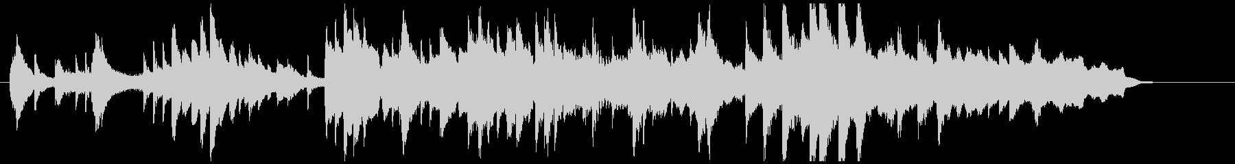 ピアノ、弦楽器、静かな挿入曲♪50秒の未再生の波形