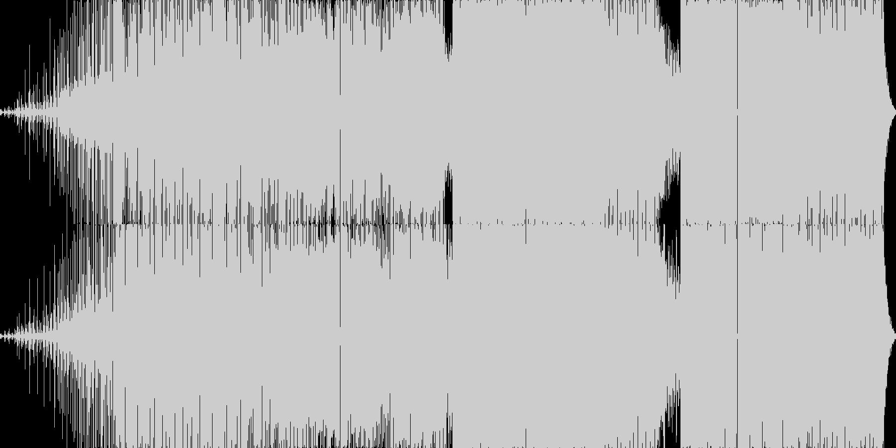 ディープでダークな4つうちです。の未再生の波形