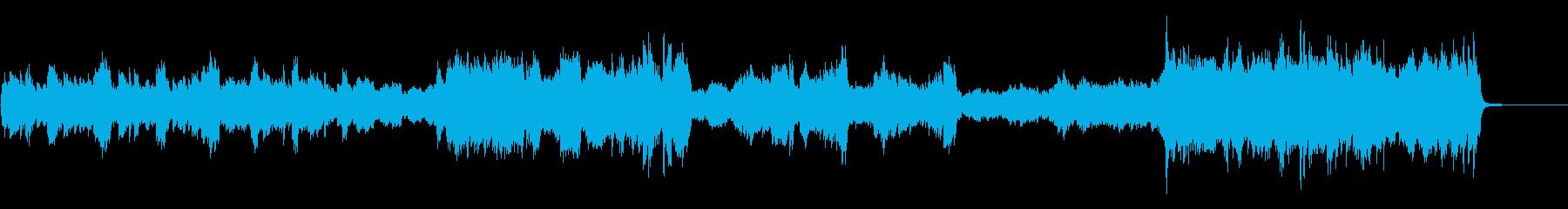 快活なピアノソロの再生済みの波形