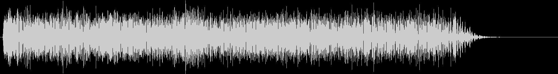 ギター エレキ ギューン スライドの未再生の波形