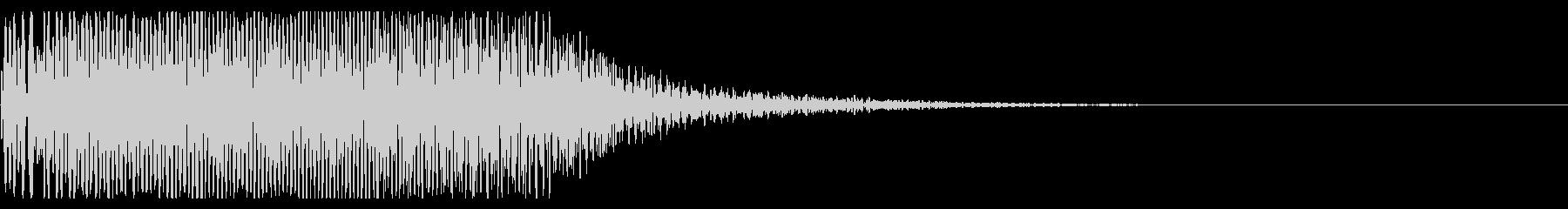 ブオーン④  機械音の未再生の波形