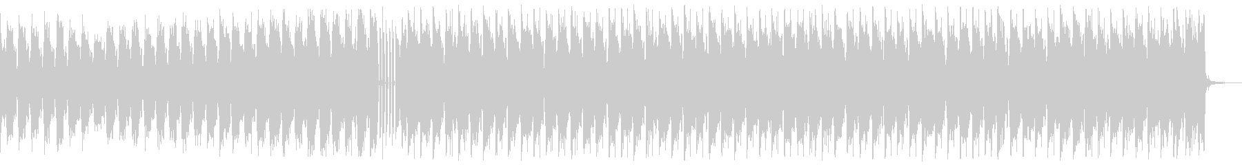 キラキラしたエレクトロ_No645_3の未再生の波形