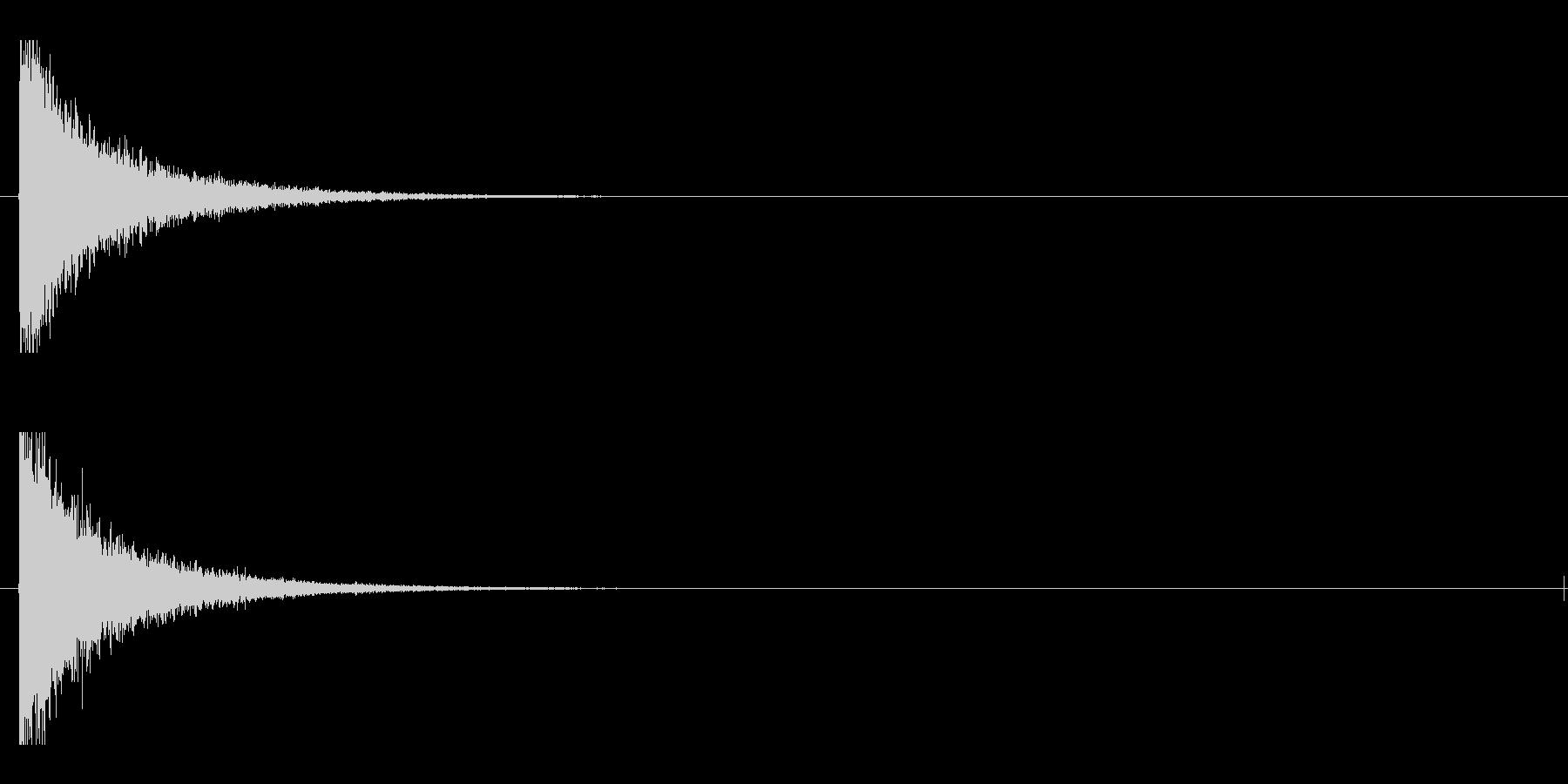 レーザー音-90-1の未再生の波形