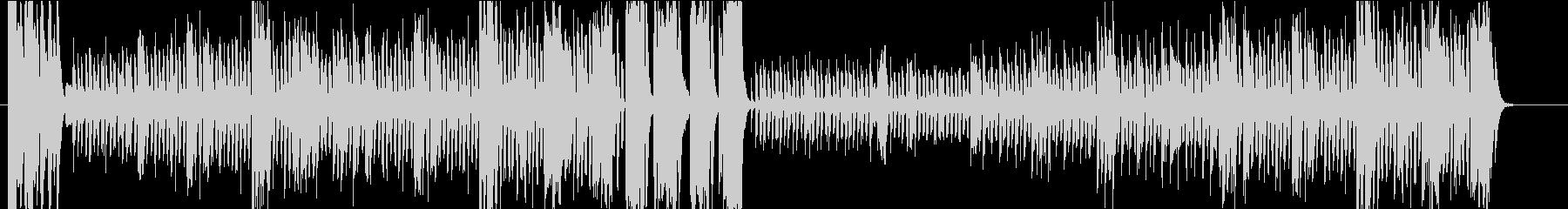 鼓笛隊のマーチの未再生の波形