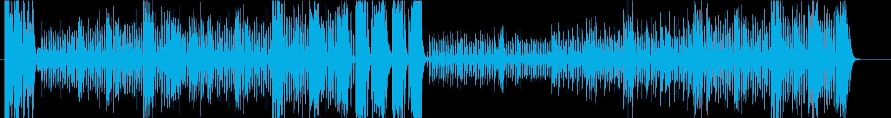 鼓笛隊のマーチの再生済みの波形