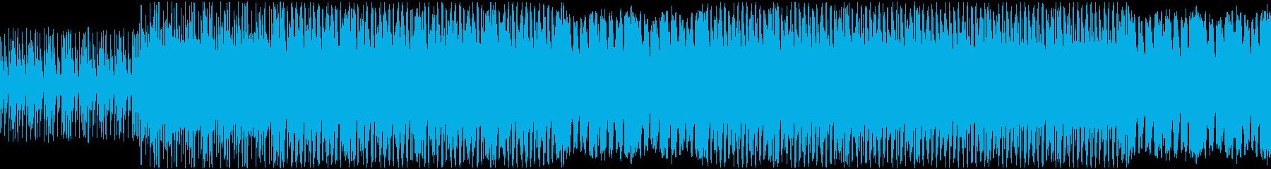ラスボスアタック風BGMの再生済みの波形
