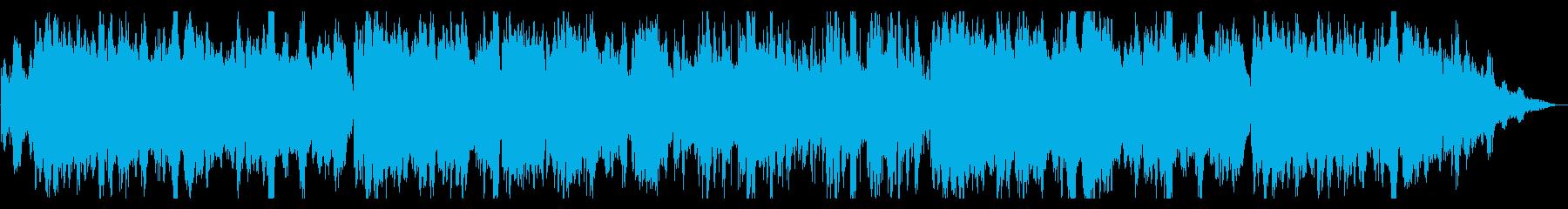 幽霊屋敷・怪談・お化け屋敷…ホラーBGMの再生済みの波形