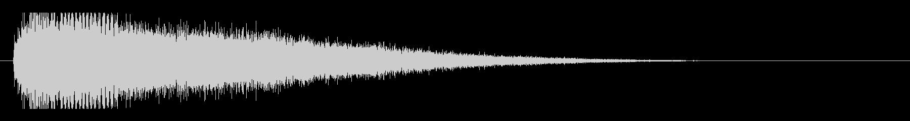 レーザー音-103-3の未再生の波形