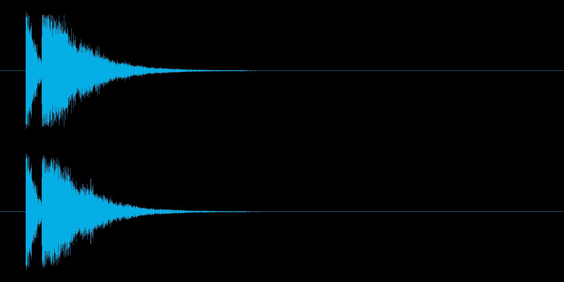 ビームライフル3★エコー有の再生済みの波形