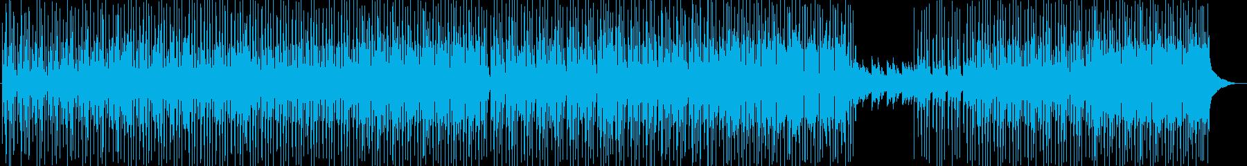 R&Bヒップホップ メロウで切ない夏の再生済みの波形