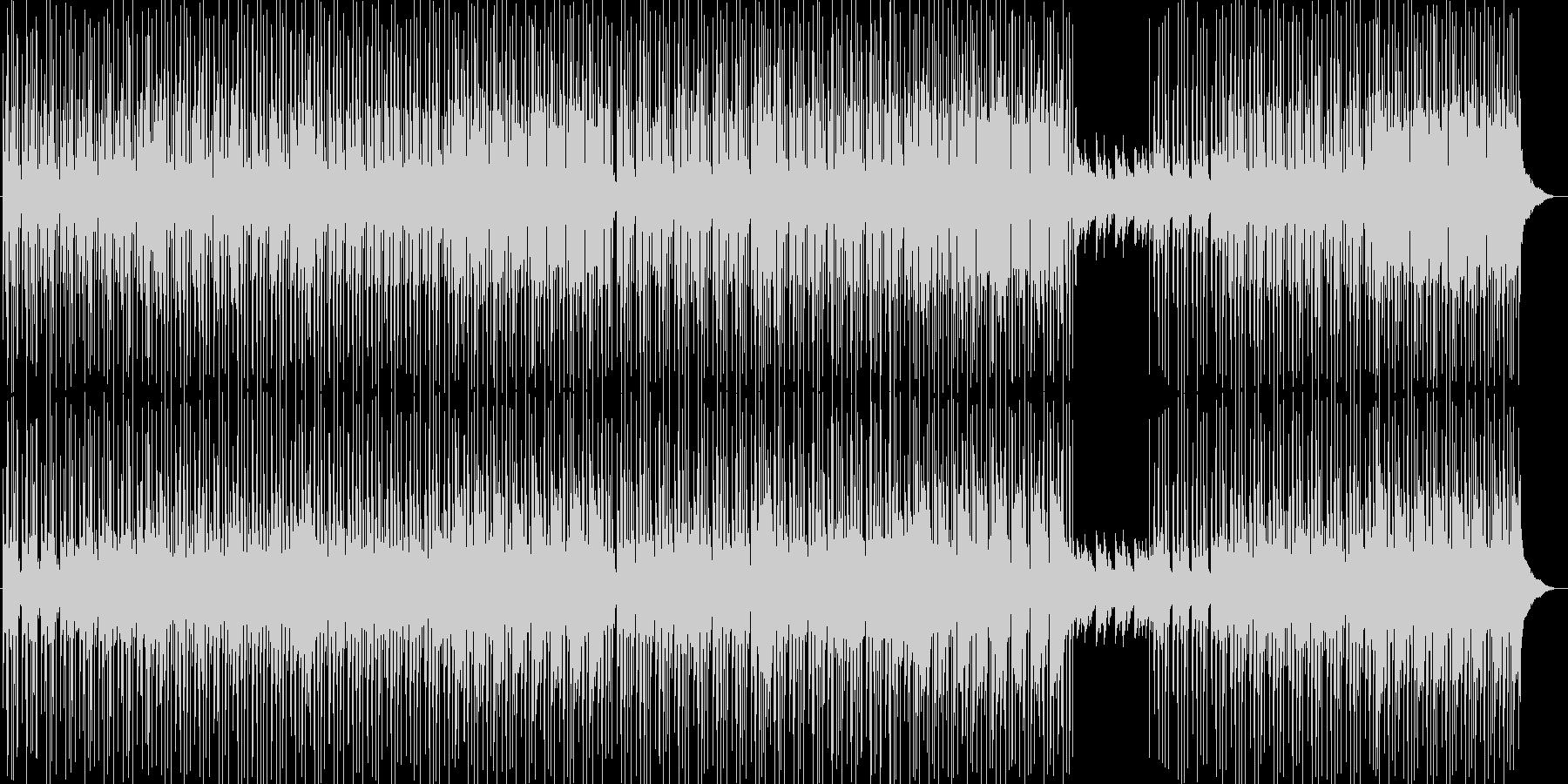 メロウで切ない夏R&Bヒップホップ夕暮れの未再生の波形