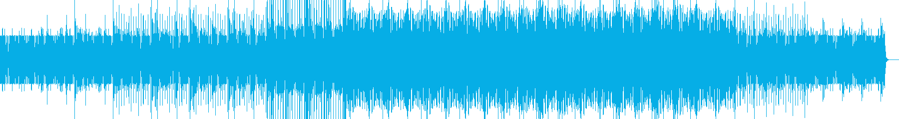 エレクトロハウス。の再生済みの波形