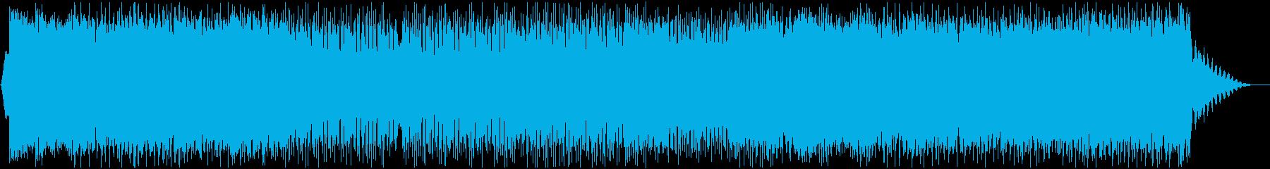 可愛らしいダンスポップ3 声有りの再生済みの波形