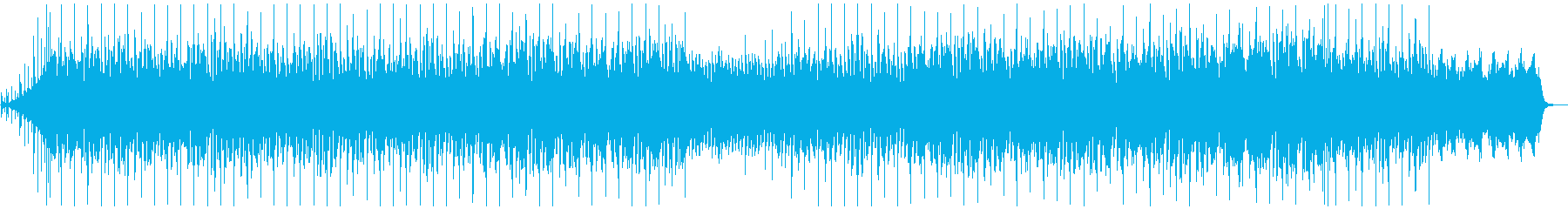 切ないアコギ サックス Vlogの再生済みの波形