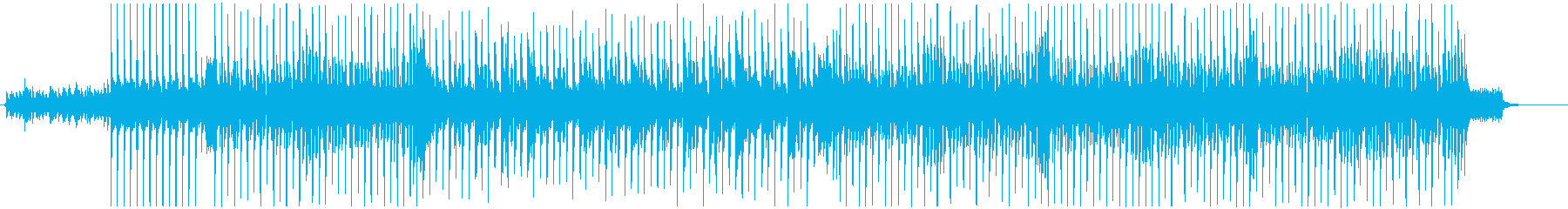 爽快でポジティブなアコースティック曲Cの再生済みの波形