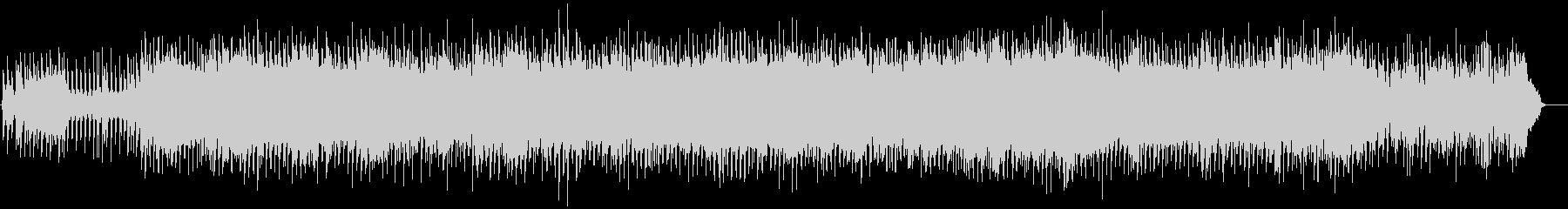 80年代ニューオーダー風のテクノポップの未再生の波形