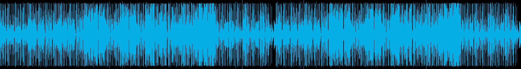 【ループ版】YouTube ファンクの再生済みの波形