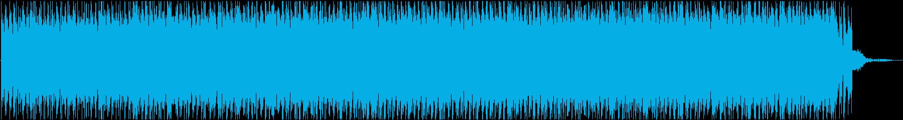 怪しげで疾走感のあるシタールの曲の再生済みの波形