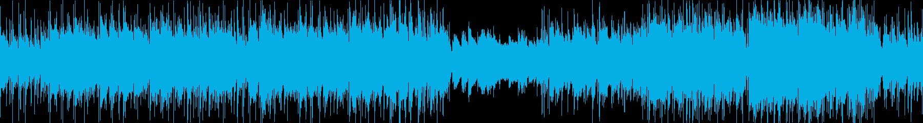 ファンタジーRPG爽やかケルト・ループ版の再生済みの波形
