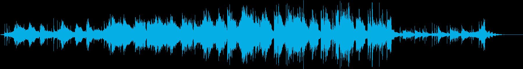 方位磁針の再生済みの波形