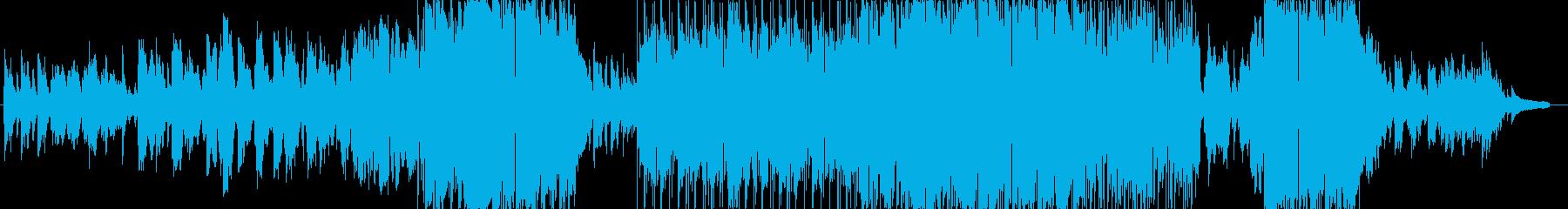 切く優しいバラードの再生済みの波形