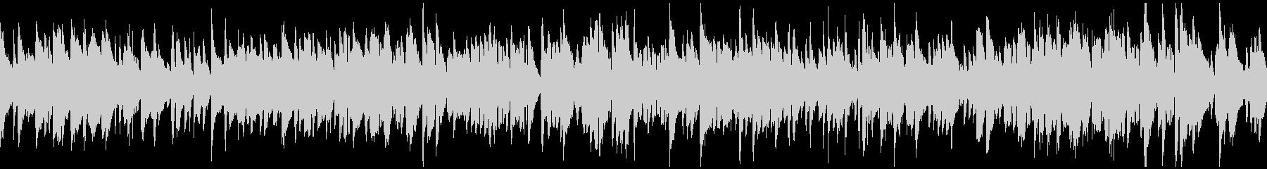 しっとりしたスローなボサノバ ※ループ版の未再生の波形