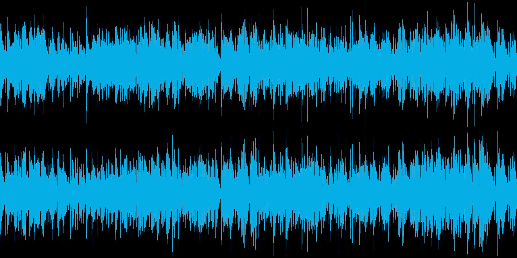 しっとりしたスローなボサノバ ※ループ版の再生済みの波形