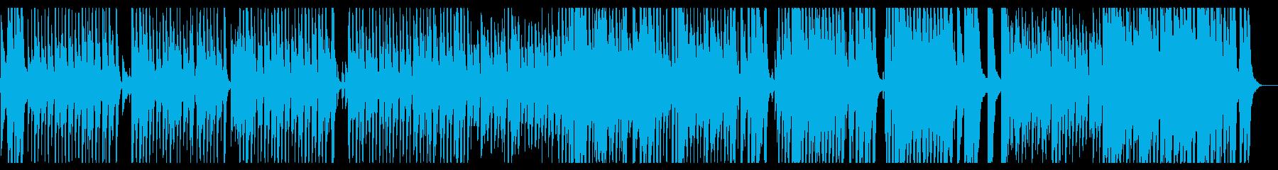 明るく楽しげなゴージャスブラスセクションの再生済みの波形