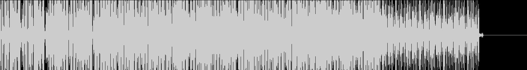 TV・ラジオニュースのシーケンスBGMの未再生の波形