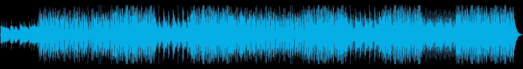 ギター、エレクトリックピアノ、オル...の再生済みの波形