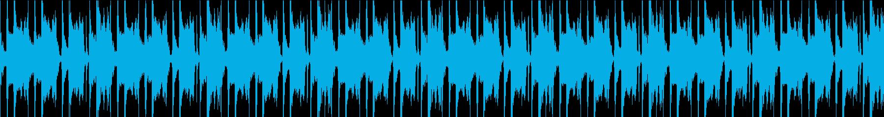 カントリーと自然をイメージした楽曲の再生済みの波形