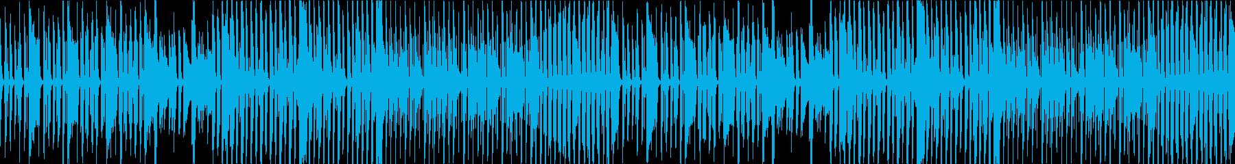 【Loop】呑気で平和なコミカル曲の再生済みの波形