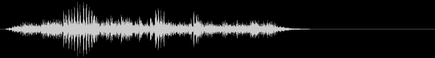 [生音]ビー玉が転がる04(ショート)の未再生の波形