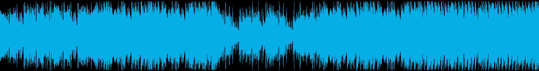 穏やかな日常・カントリー・ループの再生済みの波形