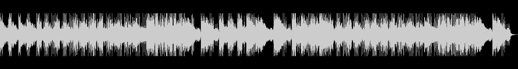 オシャレ大人な雰囲気リズムBGMの未再生の波形