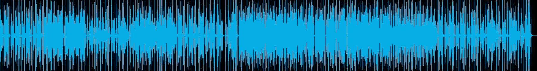 ゲーム音源を使ったポップで軽快なサウンドの再生済みの波形