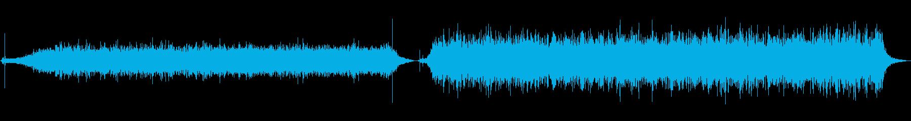 フード、クッキングアスピレーター、...の再生済みの波形