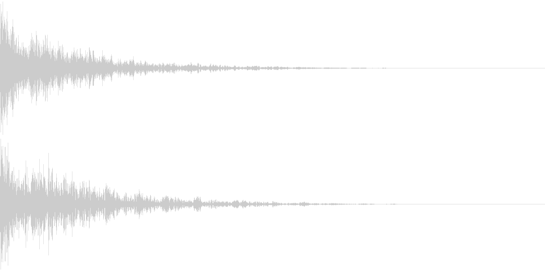 ドーン-35-2(インパクト音)の未再生の波形