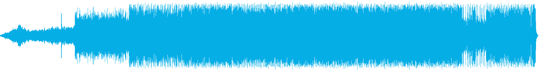 技術。口-ギター、ベース、ドラムの...の再生済みの波形