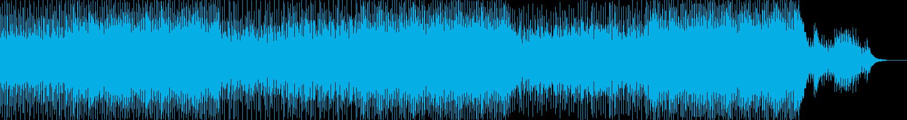 エレクトロニック 技術的な ハイテ...の再生済みの波形