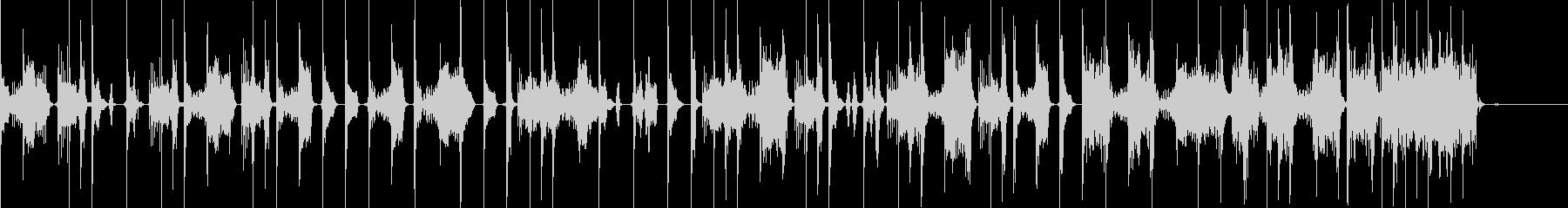 ビートボックスとファミコン音で構築した曲の未再生の波形