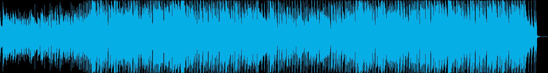 ベースやギターがグルーヴィーなハウスの再生済みの波形