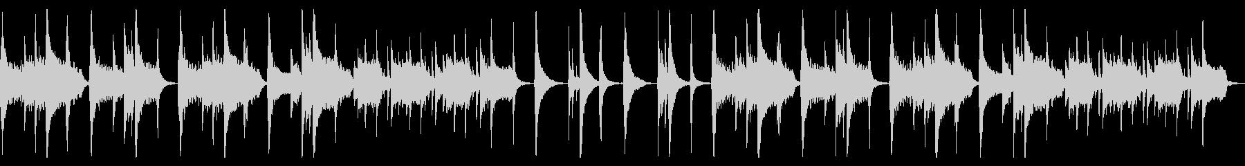 【ループ版】和風 バラード・尺八の未再生の波形