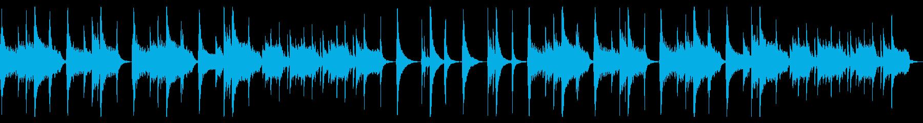 【ループ版】和風 バラード・尺八の再生済みの波形