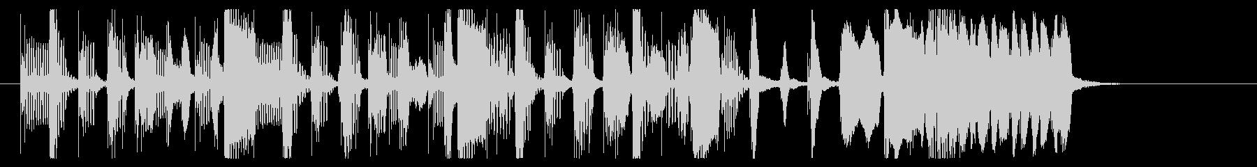 転換-トランジションなどに最適な陽気な曲の未再生の波形