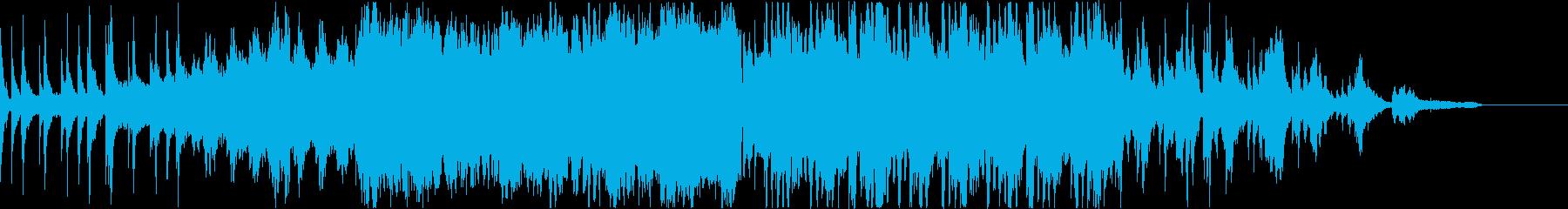 アイヌ楽器使用、自然を感じる静かな曲の再生済みの波形