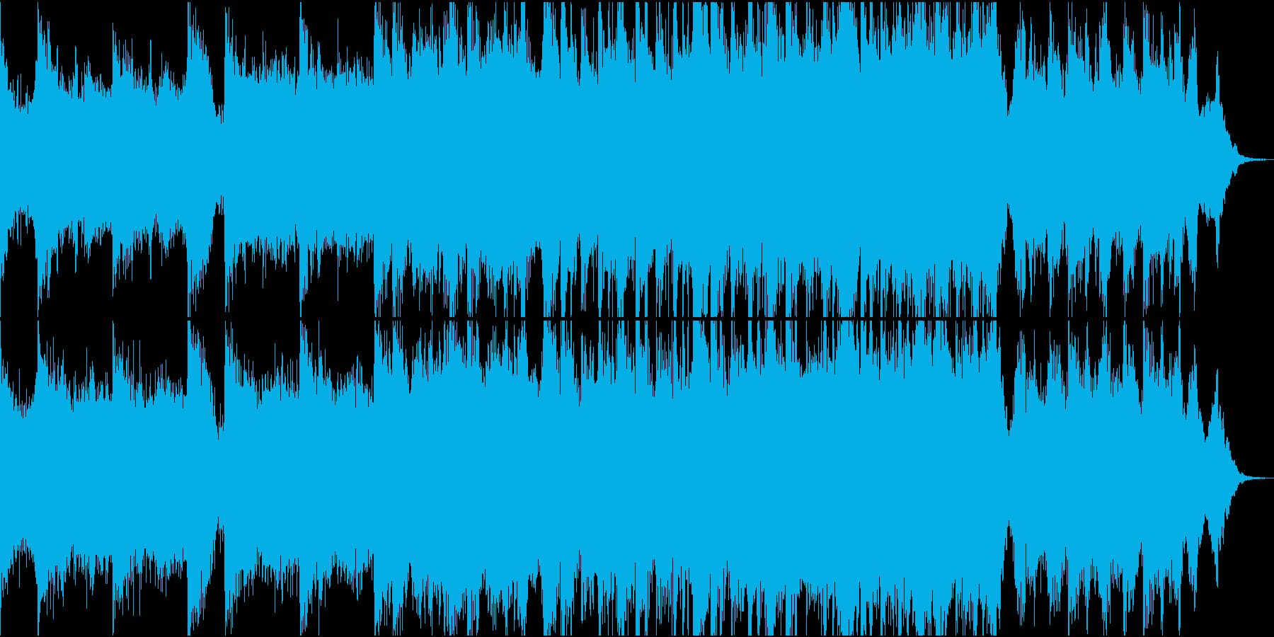 現代的 交響曲 エレクトロ プログ...の再生済みの波形