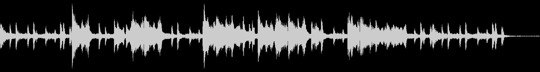 短いピアノとオルガンJazzBGM。の未再生の波形