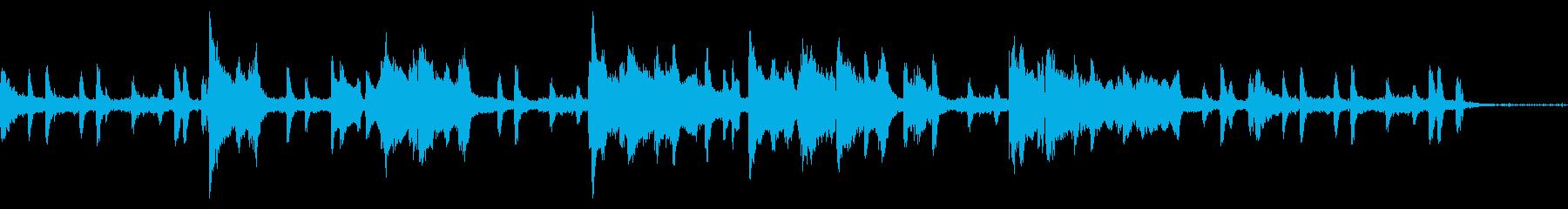 短いピアノとオルガンJazzBGM。の再生済みの波形