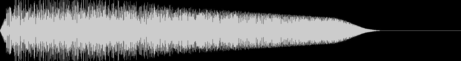 ビューン(移動ワープ/宇宙ファミコンSFの未再生の波形